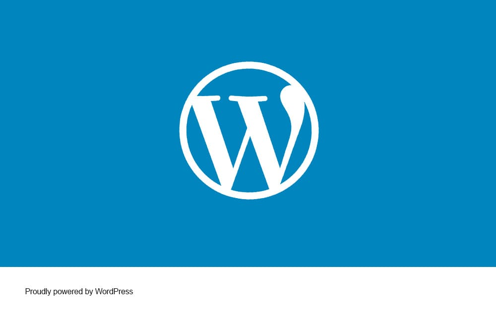 Remove WordPress Credits Footer