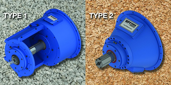 type 1 and type 2 PTO