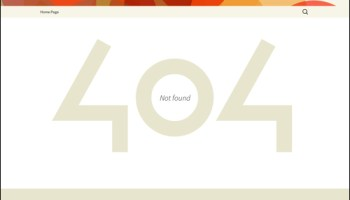 {A WordPress 404|404} error page