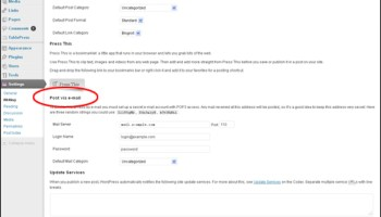 How To Add Posts To WordPress Via Email