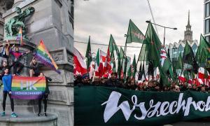 Kolejny atak naaktywistów LGBT. Młodzież Wszechpolska zakłóca trening