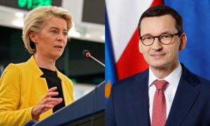 Morawiecki na dywaniku w Brukseli. Von der Leyen wylicza tematy szczytu UE