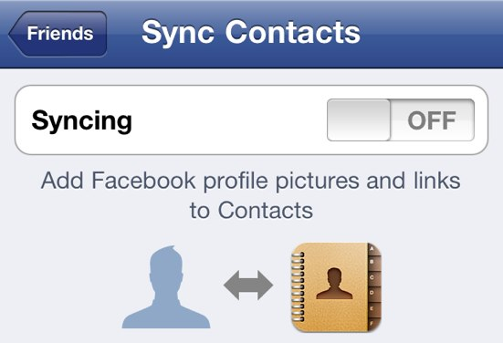 All Your Contacts Are Belong To Facebook