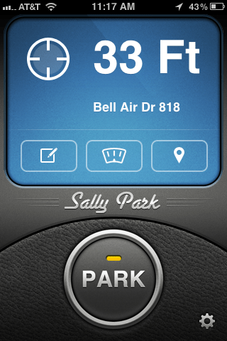 Sally Park ~ Park stress-free Lets You Forget Where You Parked Without Losing Your Car