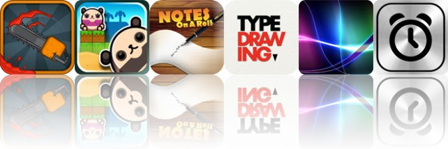 Today's Apps Gone Free: Tread Of The Dead, Land-a Panda, Notes On A Roll And More