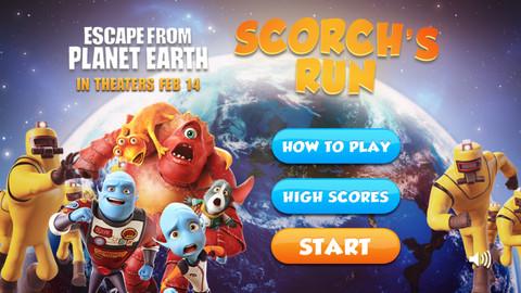 Help A Blue Alien Escape From Planet Earth In Scorch39s Run