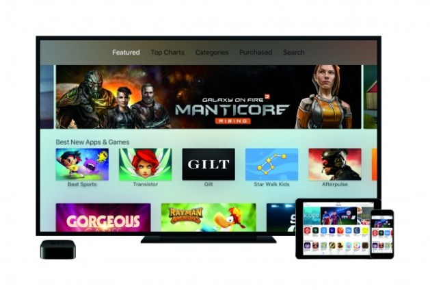 Apple TV's new App Store will have plenty to choose from