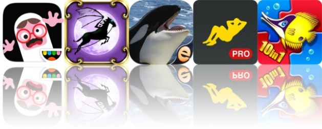 Todays apps gone free: Toca Boo, Spooky Hoofs, Orca Puzzles and more