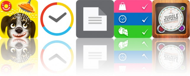 Todays apps gone free: Pepi Bath 2, Kiwake Alarm Clock, TextCenter and more