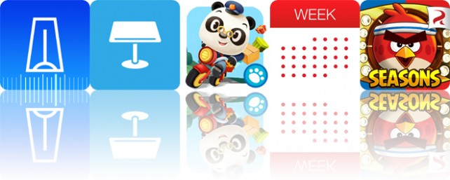 Todays apps gone free: Practice+, Templates for Keynote, Dr. Pandas Mailman and more