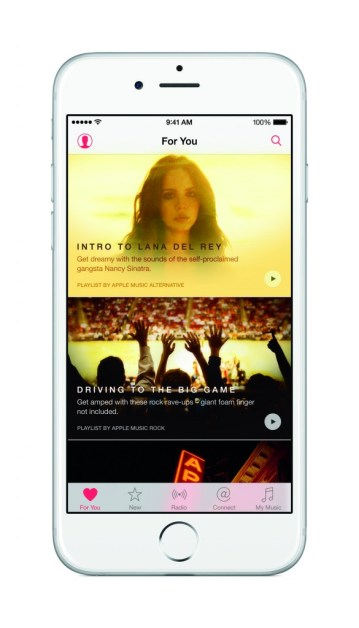 Apple Music's subscribers include 6.5 million paid customers