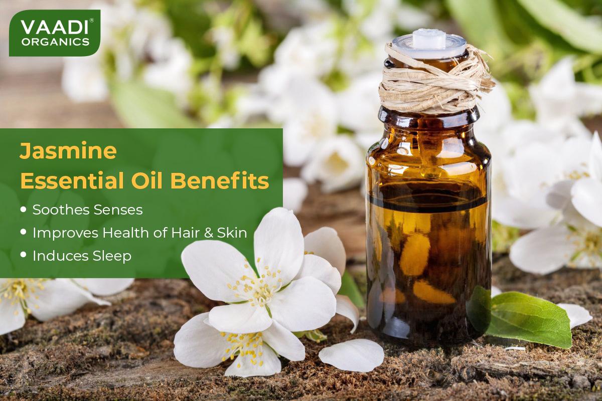 Jasmine Essential Oil – Nourishes Dry & Damaged Hair ...