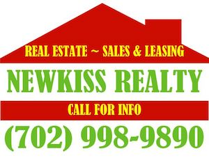 Las Vegas Real Estate Brokerage ~ Newkiss Realty