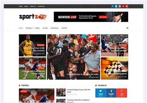 Sportsmag Blogger spor En İyi Tema