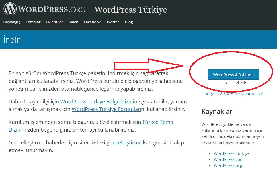 Cpanel ile WordPress site kurulumu