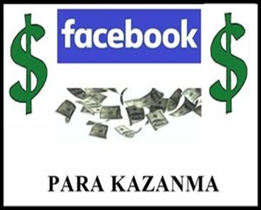 Facebook ile para kazanma