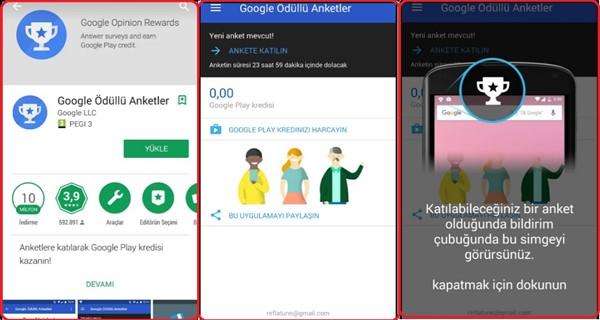 Google Ödüllü Anketler Nedir Google Ödüllü Anketler