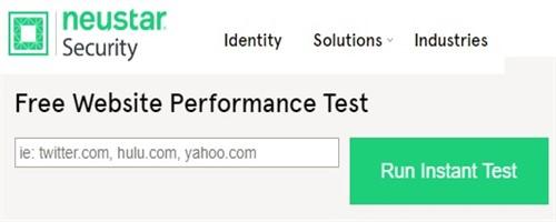 Site hızı test etmek