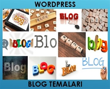 Wordpress blog teması