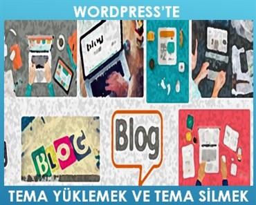 Wordpresste tema yüklemek