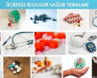 Ücretsiz Blogger Sağlık Temaları