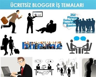 Ücretsiz Blogger iş temaları