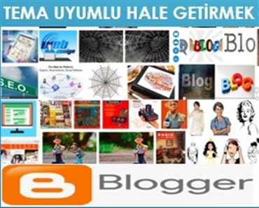 Blogger Tema Mobil Uyumlu Hale Getirme