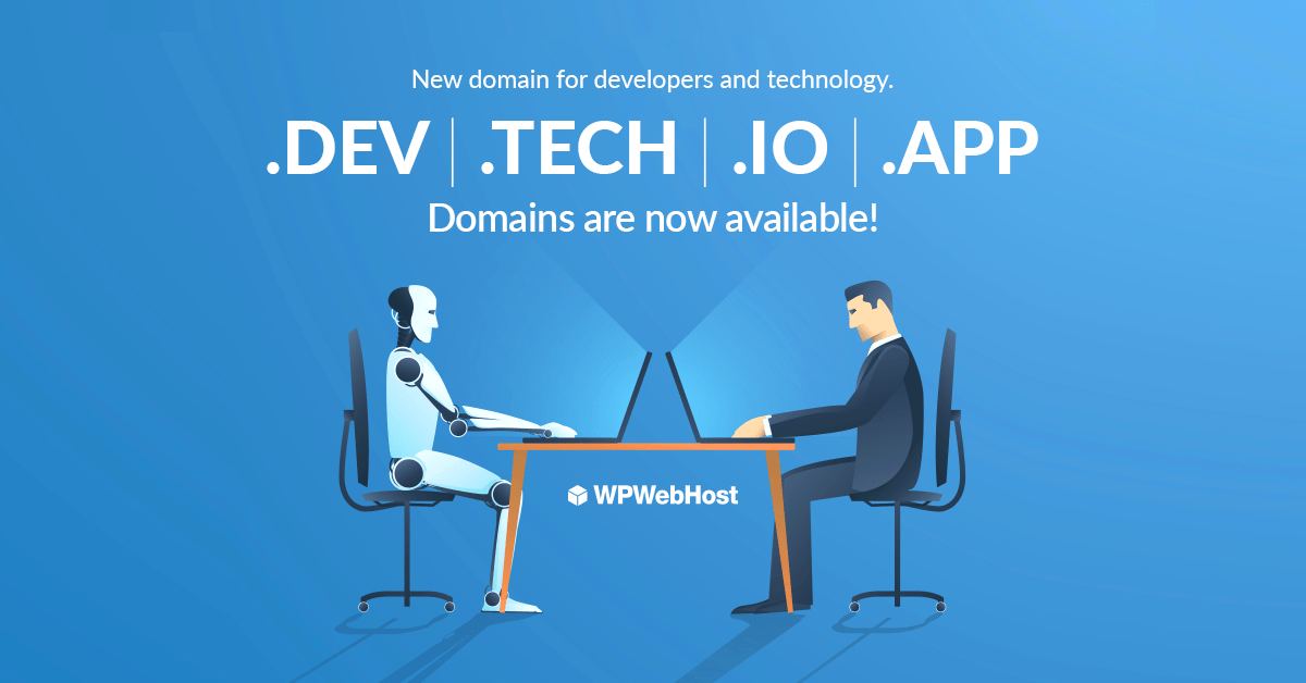New Domain Extensions For Developers