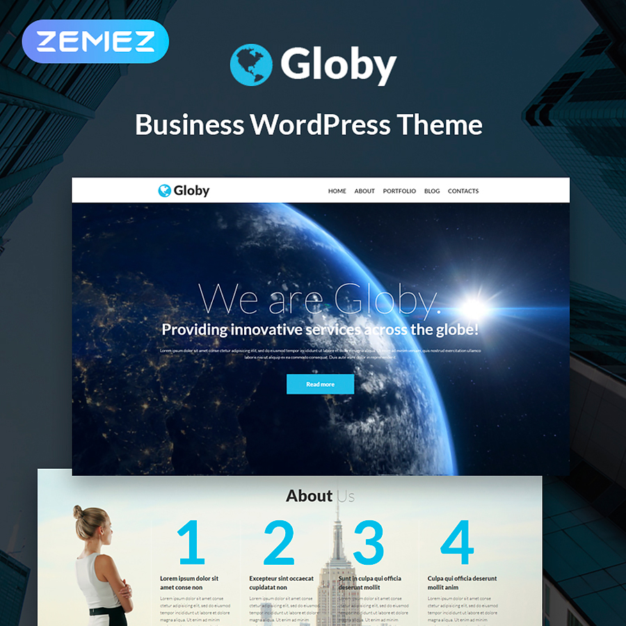 Your Business WordPress Theme