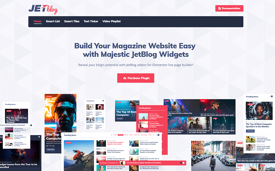 JetBlog - Blogging Package for Elementor Page Builder WordPress Plugin