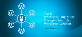 Top 15 WordPress Plugins for Managing Multiple WordPress Websites