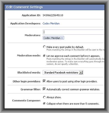 Integrate Oauth 2.0 Compliant Facebook comments in your WordPress blog