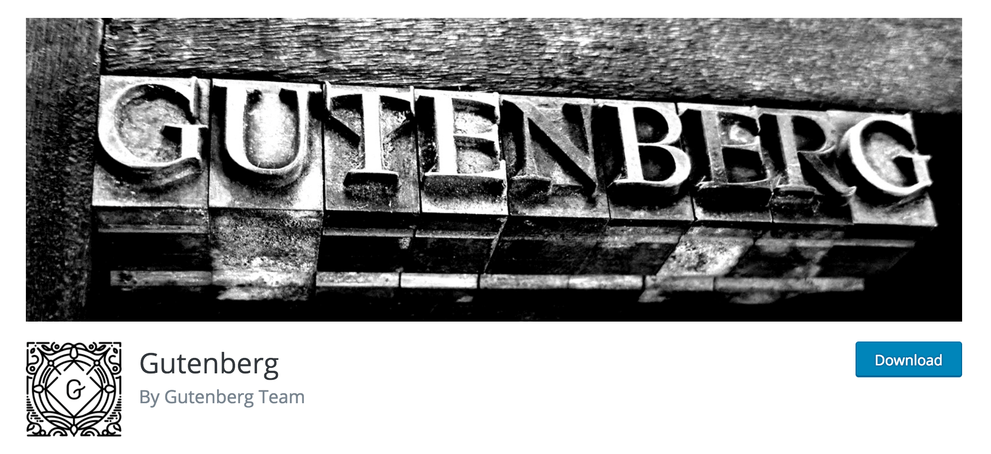 The Gutenberg WordPress plugin.