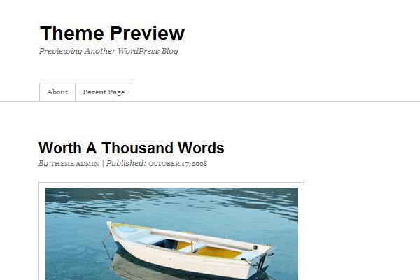 Thematic Theme Framework