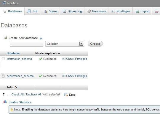 Install Wordpress on WampServer - WPWebHost