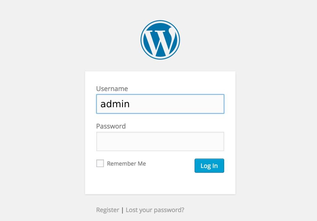 wordpress-admin-login-screen