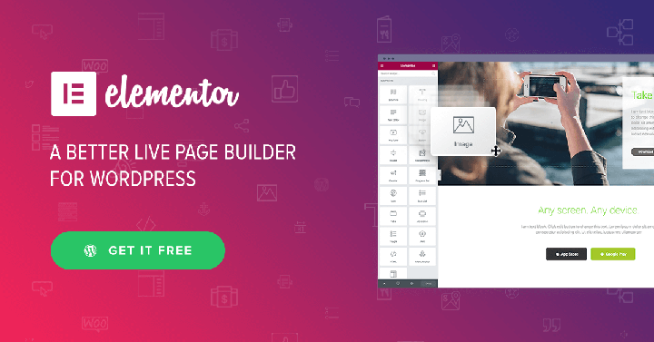 Elementor Page Builder Create a Beautiful New Website Frontend