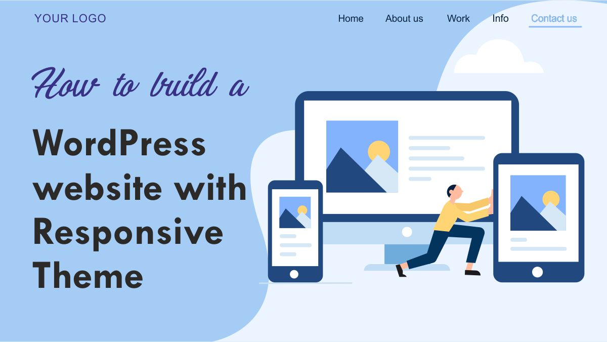 How to build a WordPress website with the Responsive theme
