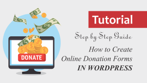 Step by Step Guide How to Create Online Donation Forms in WordPress
