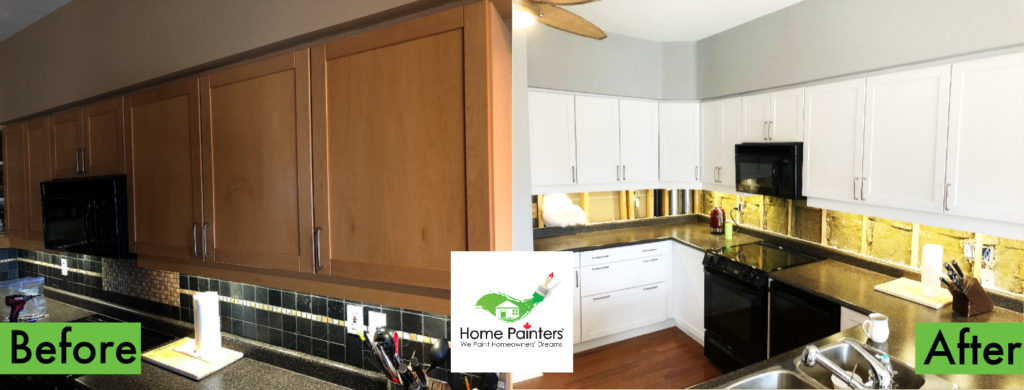 The Best Paint For Kitchen Cabinet Painting Home Painters Toronto