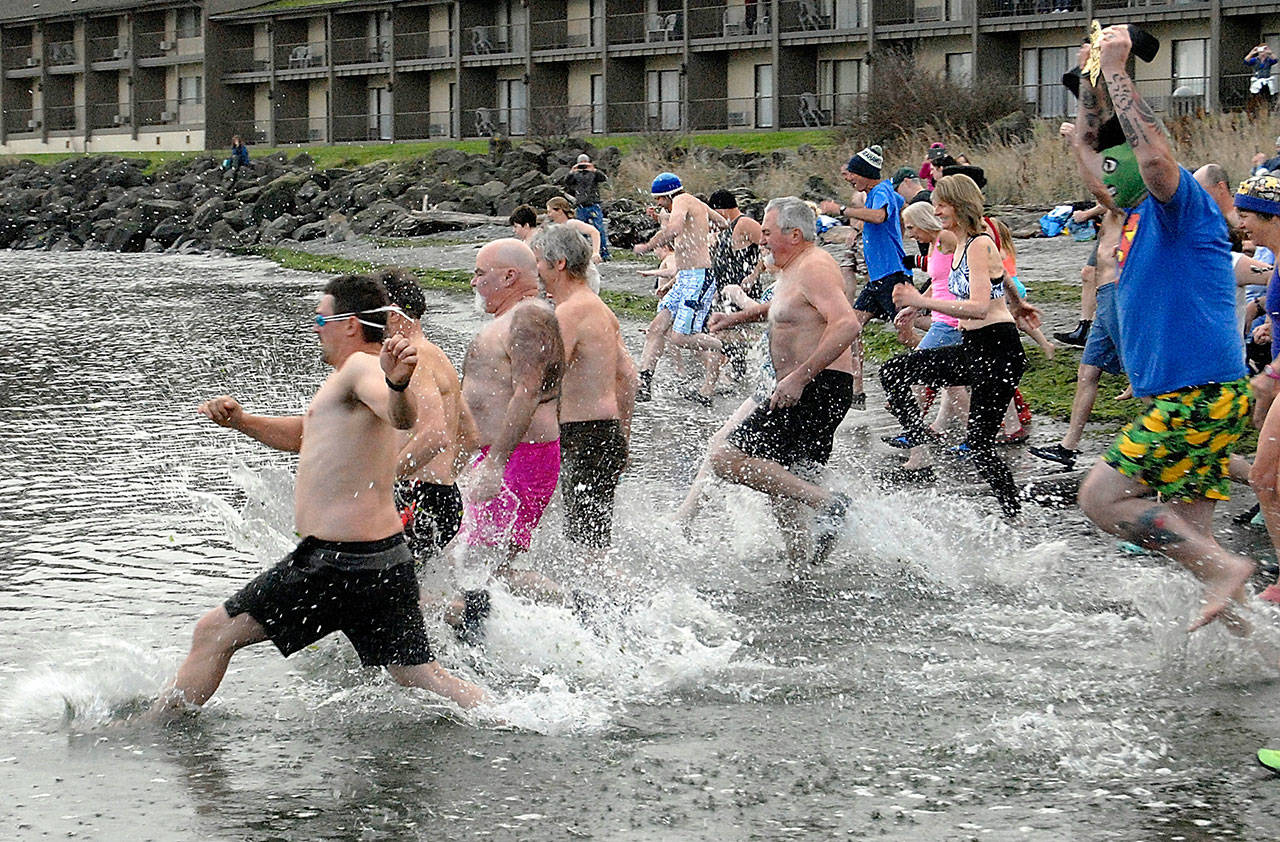 Port Angeles Polar Bear Dip A Chilling Experience For Pdn