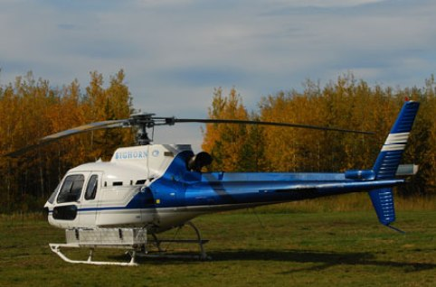 Bighorn Helicopter that came to the rescue