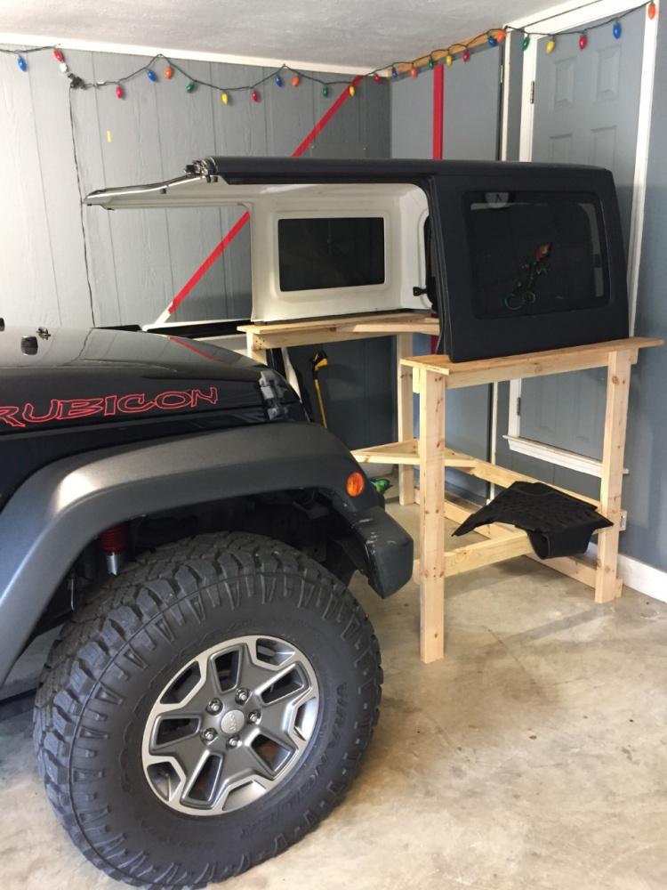 Jeep Hardtop Removal One Person : hardtop, removal, person, Hardtop, Removal, Person,, Garage,, Concrete), Wrangler, Forum