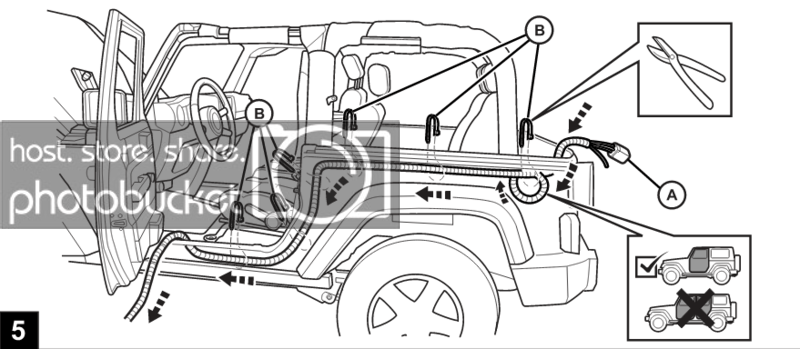 How to Install a Hardtop Wiring Harness on a Jeep Wrangler