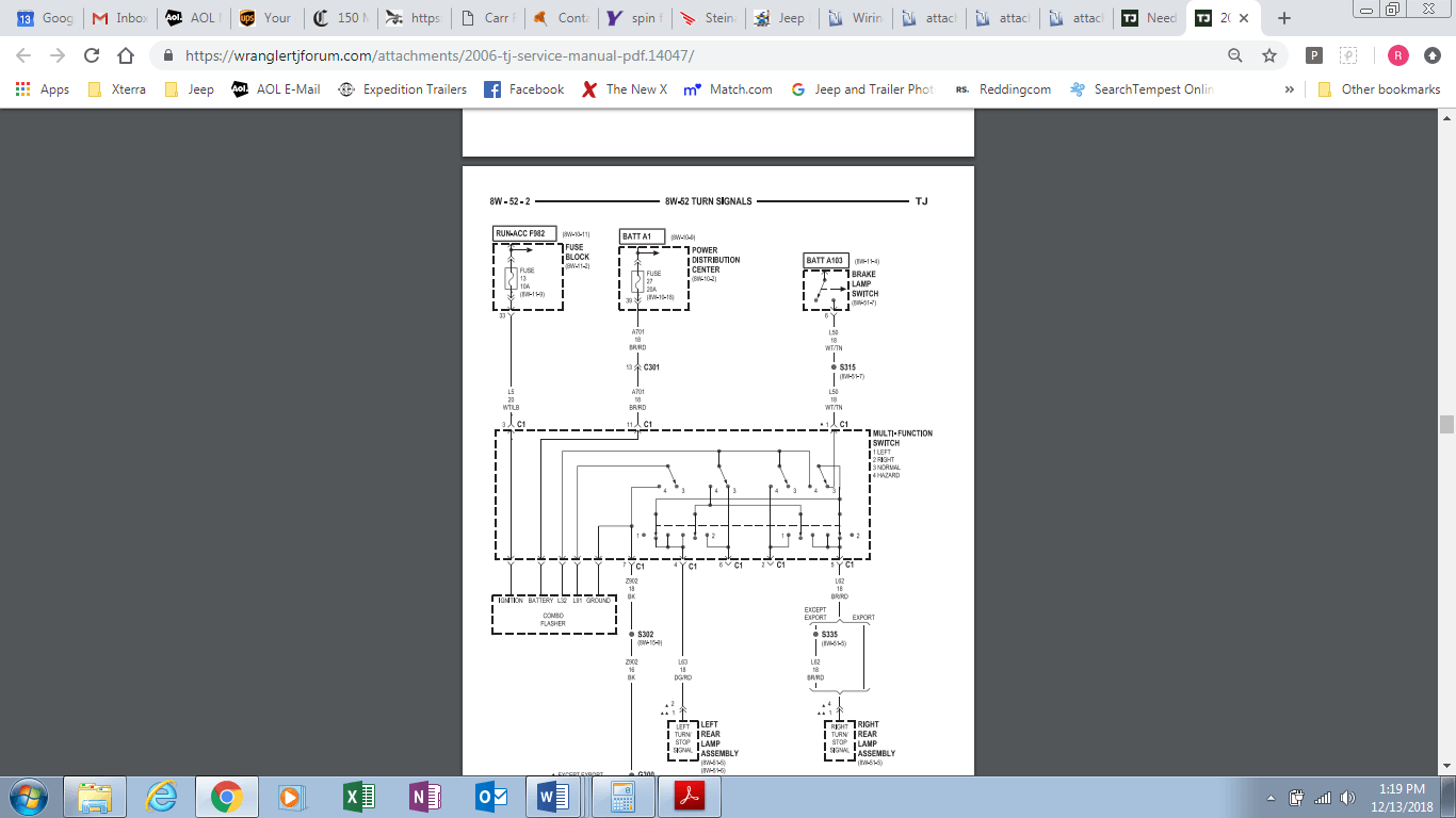 hight resolution of 2006 tj turn signal wiring diagram png
