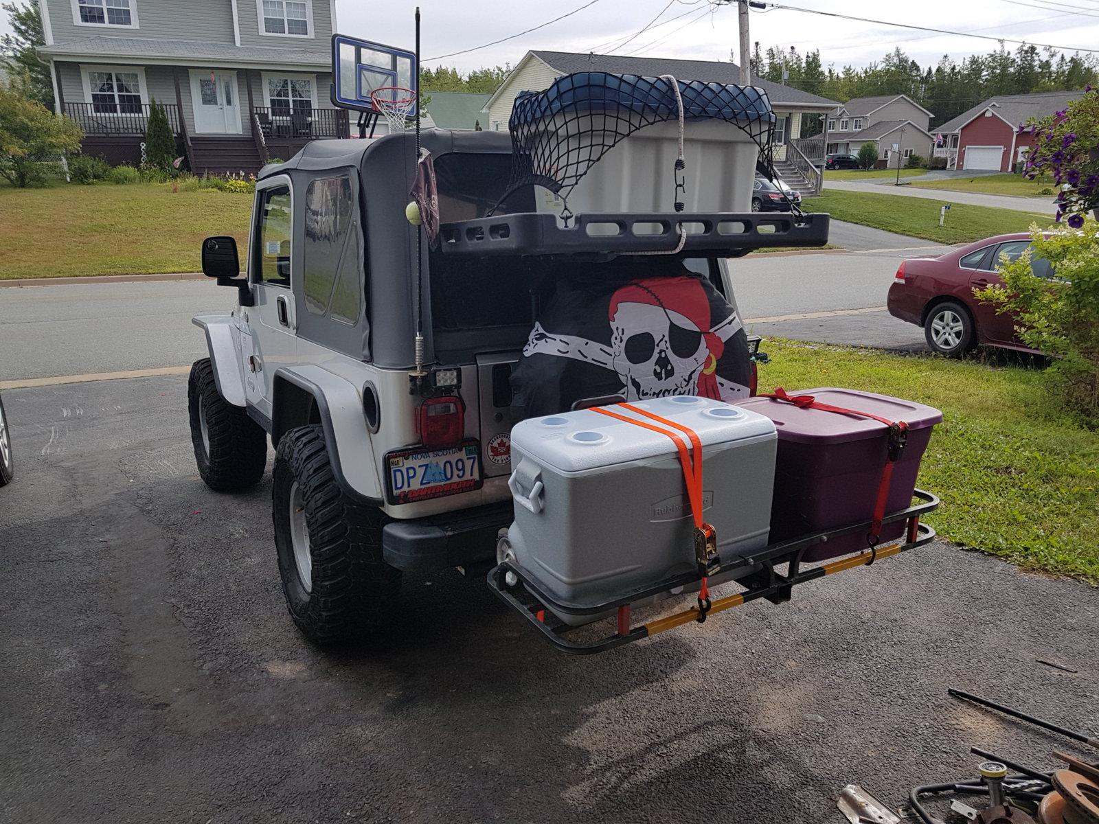 cargo carrier for jeep wrangler