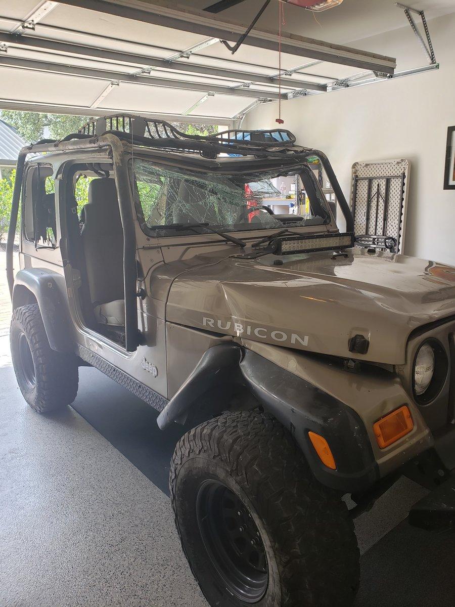 Jeep Wrangler Salvage Yards : wrangler, salvage, yards, Rolled, Jeep:, Salvage?, Wrangler, Forum