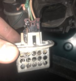 burnt out wiring while trying to find blower motor resistor jeep rh wranglertjforum com 1999 jeep [ 1600 x 1200 Pixel ]