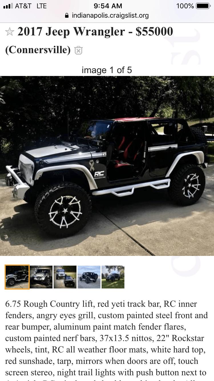 Lifted Jeeps For Sale Craigslist : lifted, jeeps, craigslist, Official, Craigslist, Thread, Wrangler, Forum