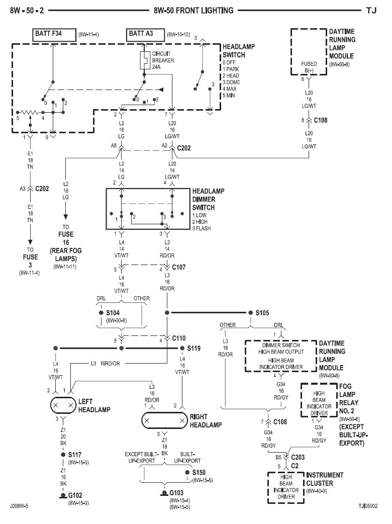 hight resolution of in the above diagram i believe the upper reference to the drl module is just showing where the module is getting power from the lower module gives us a